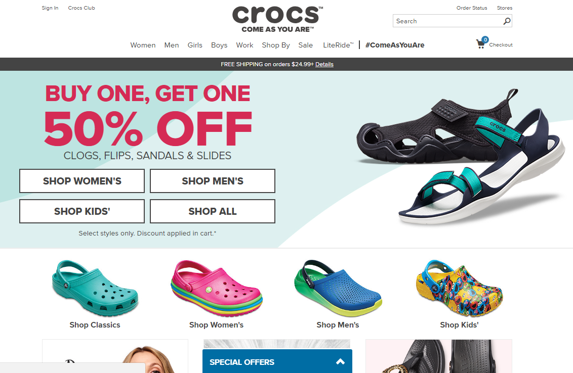 a5205975f0e7 ≡ Delivery from Crocs ᐈ Instructions how to order